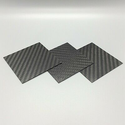 Carbon Fiber Plate Panel. 100% Carbon Sheet. Made In The US 12