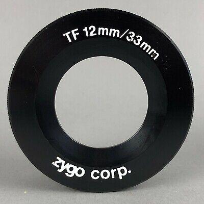 Zygo Interferometer Transmission Flat Tf 12mm33mm - Great Condition