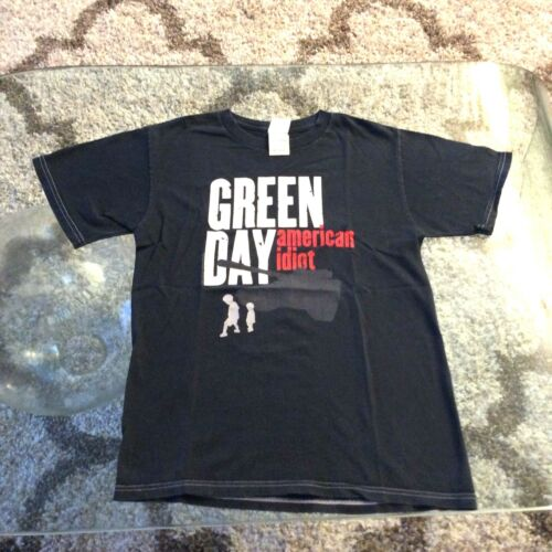 Green Day American Idiot 2005 Black Concert Shirt Adult Small