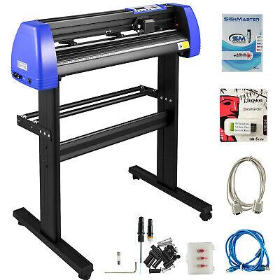 Vinyl Cutter Plotter Cutting 28 Sign Sticker Making Print Software 20 Blades