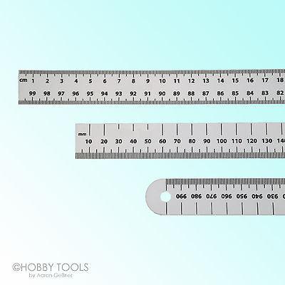 Plastik-Lineal 100 cm 1 m Kunststofflineal Kunststoff-Lineal Lineale ein Meter