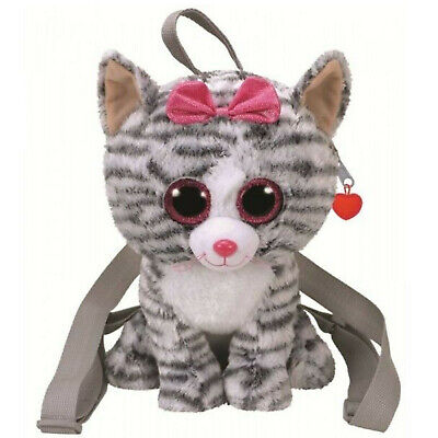Backpack Walking Little Girl Ty Kitten Cat Kiki 11 13/16in Gift Idea