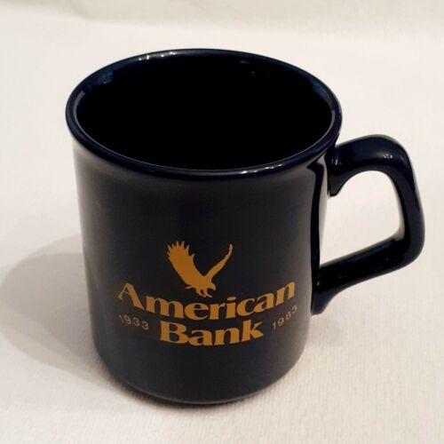 """American Bank 1933-1983"" - 50th Anniversary Coffee Mug - Unused, Mint Condition"