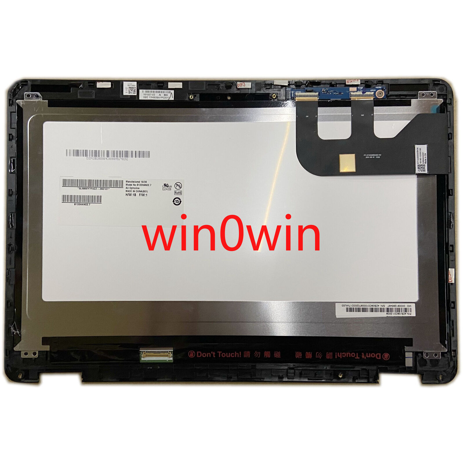 HW13FHD303 LCD Touch Screen Digitizer Assembly For Asus ZenBook UX302LA 1920X108