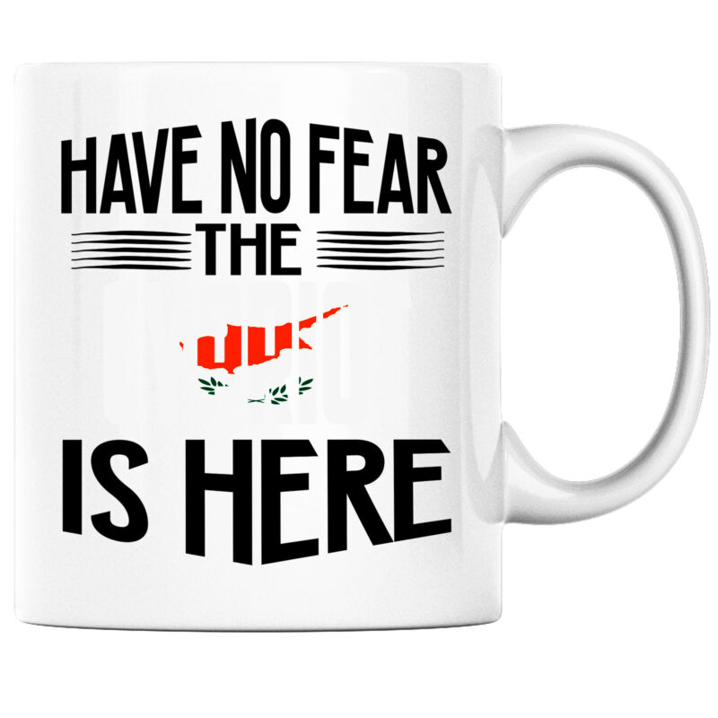 Have No Fear the Cypriot is Here Funny Coffee Mug Cyprus Heritage Pride