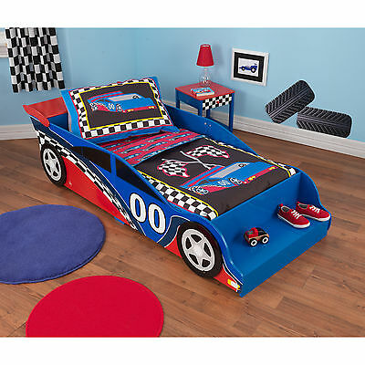 race car 4 piece standard toddler bedding ebay