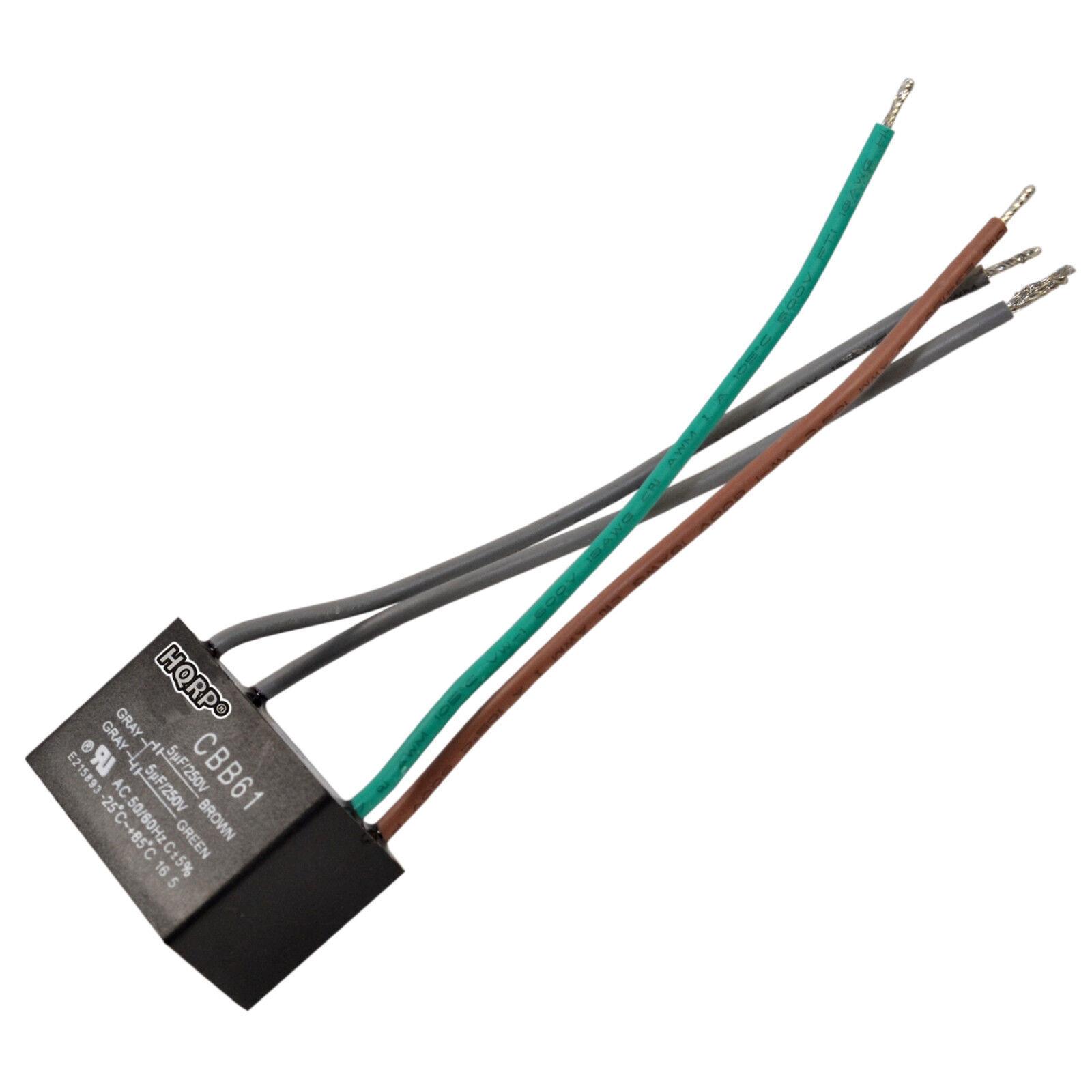 4 Wire Fan Capacitor Cbb61 Wiring Diagram - Roslonek.net