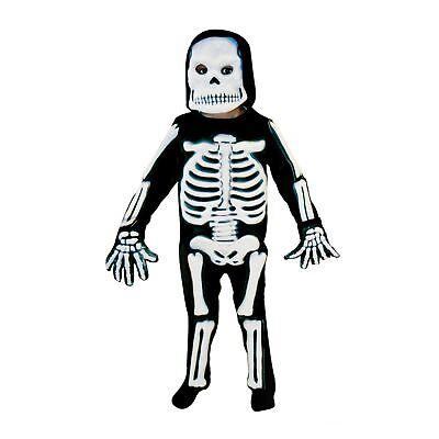 Jungen Skelett Kostüm Kinder Spukhaus Halloween Kostüm Kinder-Outfit