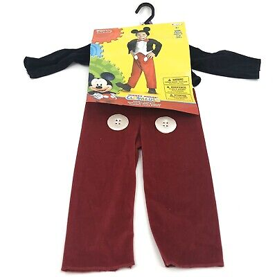 2t Mickey Mouse Costume (Mickey Mouse Clubhouse Mickey Toddler 2T Halloween Dress Up Cosplay)