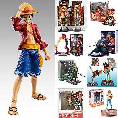 Anime One Piece PVC Figuren Luffy Nami Zoro Sanji Action Figur Spielzeug