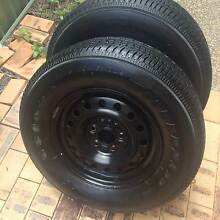 225 x 70 x 15 (2) Firestone Wilderness Tyres & Rims Paradise Point Gold Coast North Preview