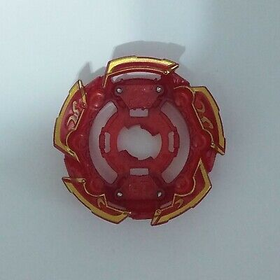 Tomy Beyblade Burst GT - Naked Layer Base (Red Version, Stickers Applied)