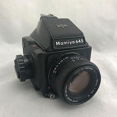 Пленочные фотокамеры Vintage Mamiya 645J Medium
