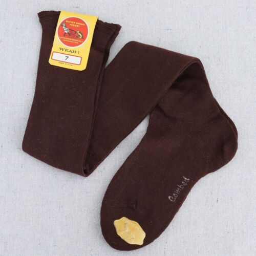 NWT Vintage Antique Buster Brown Hosiery Knee High Childrens Socks Size 7