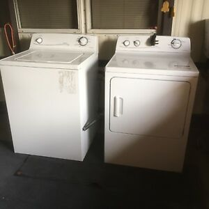 Moffat washer dryer