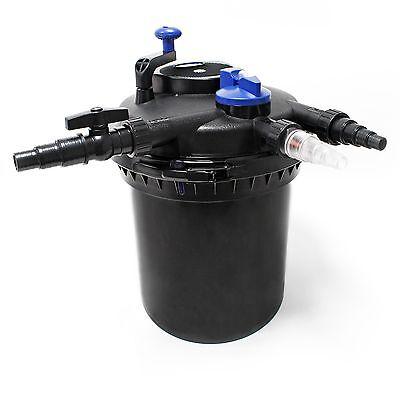 TTSunSun CPF-10000 Druckteichfilter UVC 11 W 10000 L/h Teich Filter Teichfilter