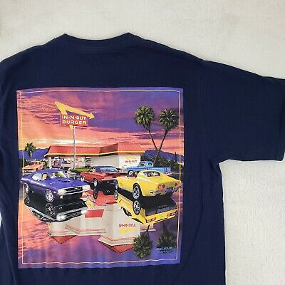 New Original In N Out Burger  Muscle Car,Surfboards,Sunset  Pin and Neon Sticker