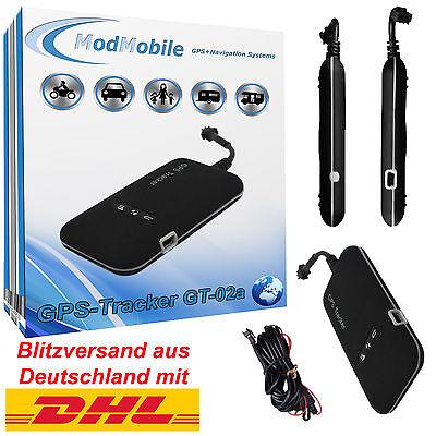 GPS Tracker GT02A GSM GPRS SMS Fahrzeug Überwachung Ortung Diebstahlschutz Neu