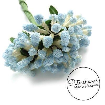 Flower Picks (Micro Bead Flower Stamen Picks for Millinery & Flower Making  Bundle of 12 Stems)