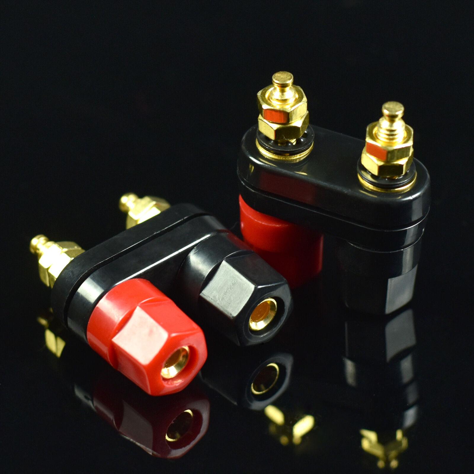 2 Deluxe Speaker Binding Post Terminals