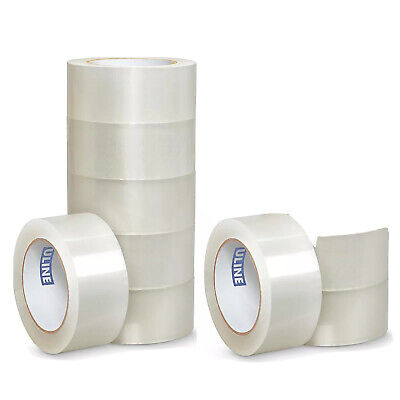 9 Uline S-423 2 X 110yds 2mil Packing Shipping Tape Rolls Nine Total