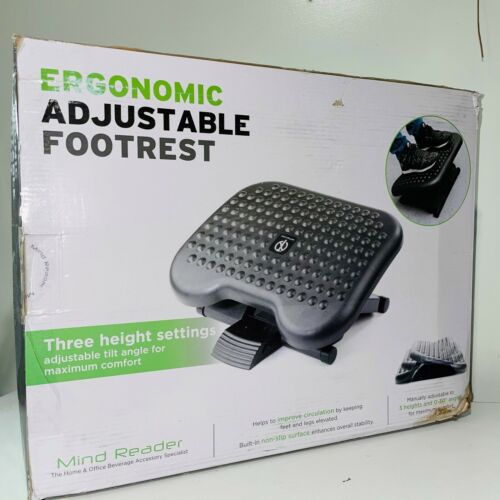 Ergonomic Footrest for Under Desk Work from Home Accessories with 3 Adjustable