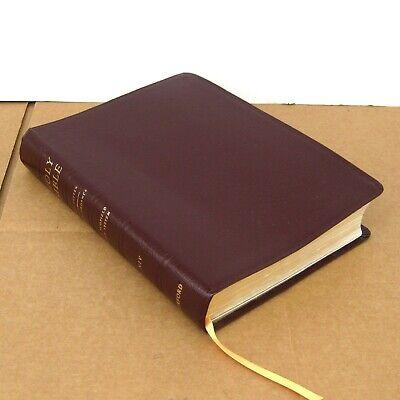 1998 New Scofield Study System Bible NIV Burgundy Bonded Leather Oxford Vintage (Scofield Study Bible-niv)
