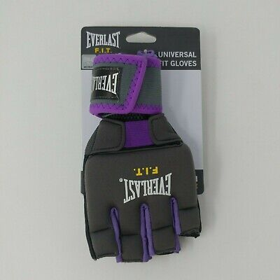 NEW! Everlast FIT Universal Fit Gloves for (kick)boxing, MMA, etc. Size S/M
