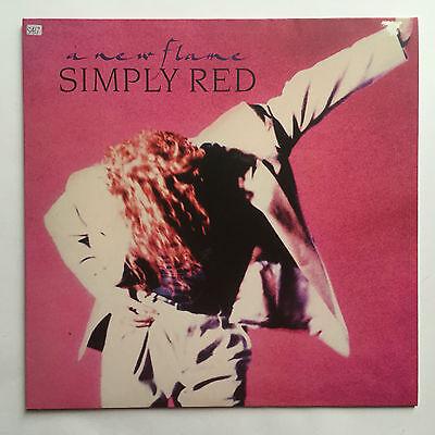 SIMPLY RED - A NEW FLAME * VINYL LP * FREE P&P UK *ELEKTRA WX 242 * ORIGINAL *