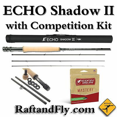 Echo Shadow II 3wt Free Competition Kit - Add Scientific Anglers Nymph Line $28