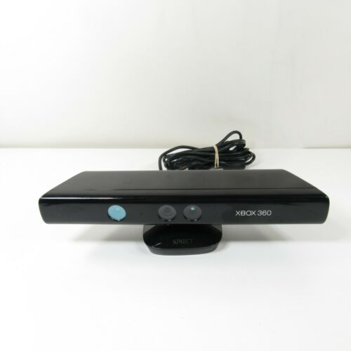 Microsoft Xbox 360 Kinect Connect Black Sensor Bar Model # 1414 For Video Games