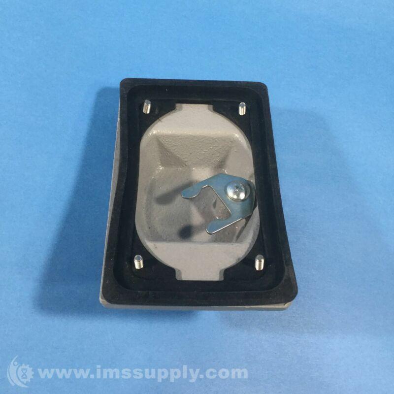 O-Z Gedney FS-1-WSCA Switch Cover, 1-Gang, Aluminum FNIP
