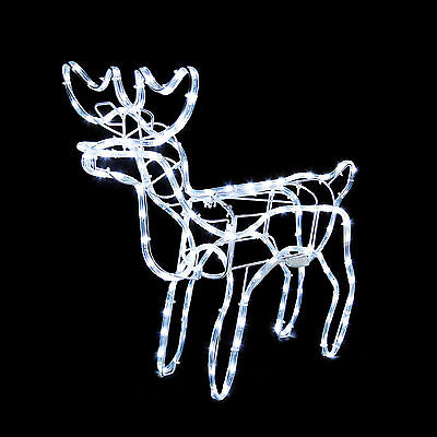 Mini LED Reindeer Lighted Christmas Decoration Yard Art  (Led Reindeer)