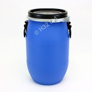 New 15kgs Dog Cat Pet Rabbit Bird Food Meal Air tight Storage Container Drum Bin