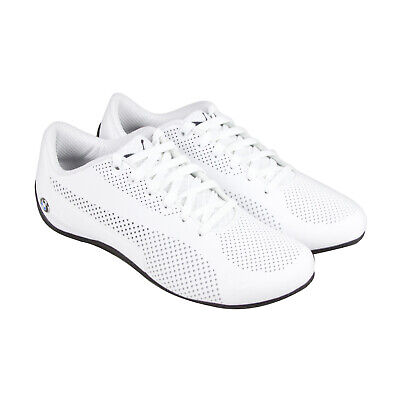 Puma BMW Motorsport Drift Cat 5 Ultra 30588202 Mens White Low Top Sneakers Shoes