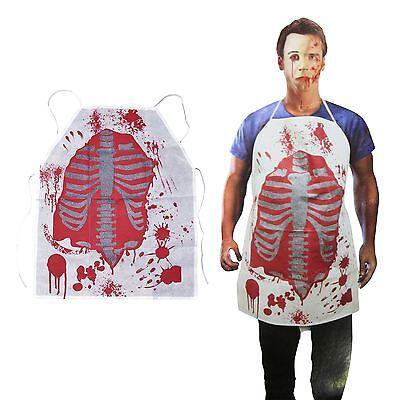 Erwachsene Zombie Koch Blutige Schürze Metzger Halloween Küche Chop Shop - Zombie Koch Kostüm