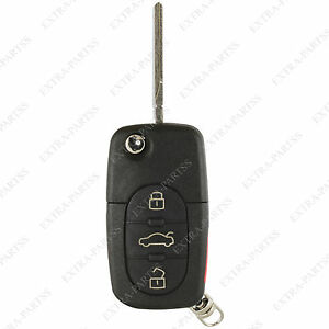 New-Flip-Key-Remote-Keyless-Entry-Transmitter-Car-Fob-For-VW-HLO1J0959753F