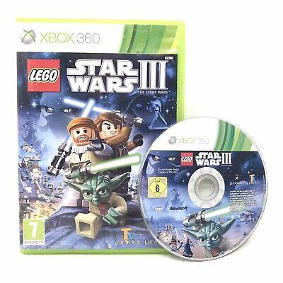 LEGO Star Wars III: The Clone Wars (Microsoft Xbox 360, 2011)