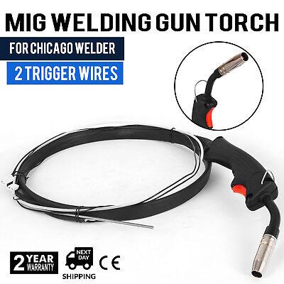 Welder Complete Replacement Mig Gun Torch W 2 Trigger Welding Gun Parts Stinger