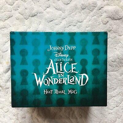 WONDERLAND Fan-Tasse Wärme verändert das MotivJohnny Depp (Tim Burton Alice In Wonderland)