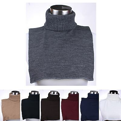 Turtle Neck Dickey Inner Sweater Warm Neck for Winter For Men and Women (Acrylic Sweaters)