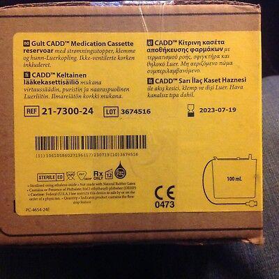 Cadd Medication Cassette Reservoir 21-7300-24 100mi 1 Case Of 12 Exp 2023-07-19