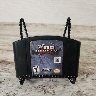 WWF No Mercy Wrestling Authentic OEM Genuine N64 Nintendo 64, 2000. Cart only