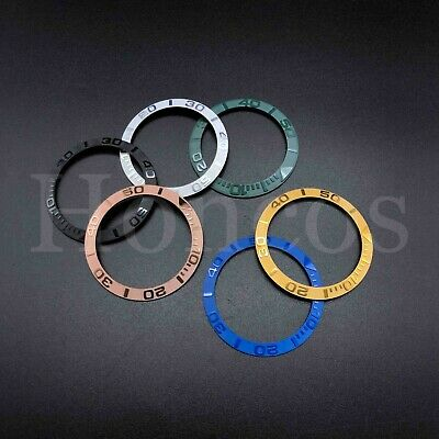 Bezel Insert Fits For Rolex 40MM Yacht Master GMT Watch Seiko 6309 7002 Ceramic - Gmt Bezel Insert