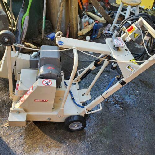 "EDCO 18"" concrete saw, excellent condition"