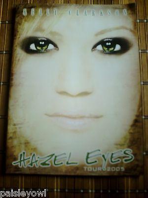 Kelly Clarkson Concert Program  2005 Hazel Eyes Tour