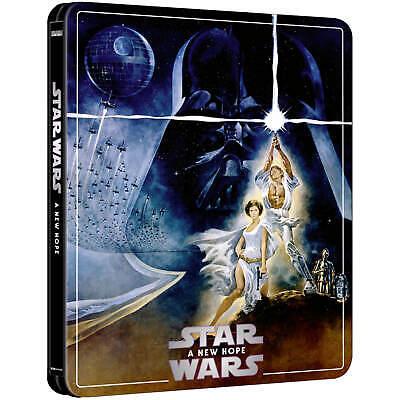 Star Wars A New Hope: Zavvi Exclusive 4K UHD 3 disc Steelbook
