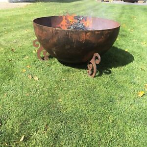 CRUSHER LINERS AND FIRE BOWLS