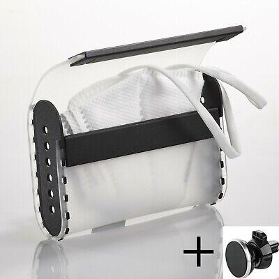 Aufbewahrungsbox für Masken, Mundschutz Tasche Etui Hülle Organizer Transportbox
