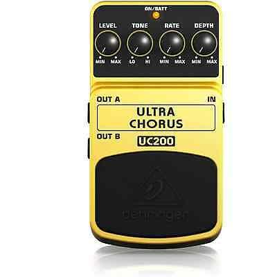 Behringer UC200 Ultra Chorus Guitar Effects Pedal